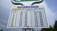 Von Seoul braucht man ungefähr zwei Stunden mit den Zug nach Singyeongju von wo aus man mit dem Bus (z.B. den 700) zum Bomun Lake Ressort fahren kann. Um den […]