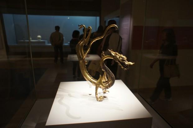 Goldener Drache im National Museum